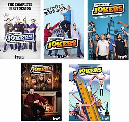 Impractical Jokers: The Complete Series Season 1, 2, 3, 4, 5 DVD, NEW