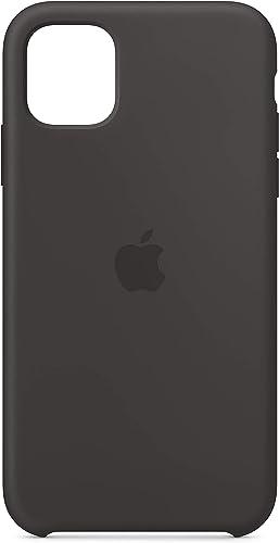 Apple Coque en Silicone (pour iPhone 11) - Noir: Amazon.fr