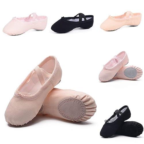 Ruqiji Ballet Shoes for Girls/Toddlers