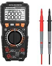 Multímetro Digital, Meterk 6000 Counts Medición de multímetro, True RMS Voltímetro con NCV y