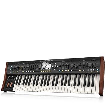 Behringer Deepmind 12 True Analogue sintetizador polifónico de 12 voces: Amazon.es: Instrumentos musicales