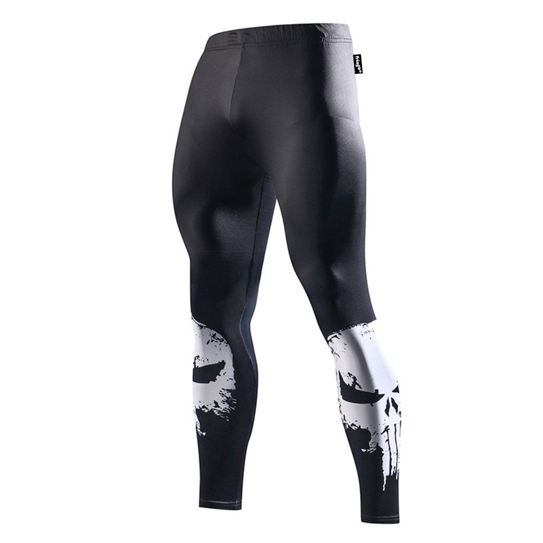 Tights Medium Fringoo Leggings deportivos para hombre Punisher