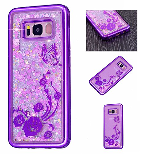 Galaxy S8 Plus Case CUSKING Silicone Liquid Glitter for sale  Delivered anywhere in Canada