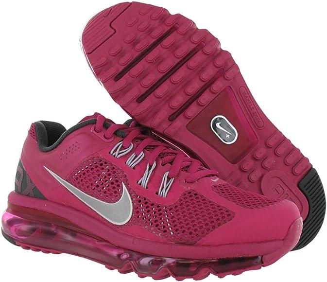 Mujer Nike Air MAX 2013 Zapatilla de Running, Color Fucsia, Púrpura (Púrpura), 8 B(M) US: Amazon.es: Zapatos y complementos