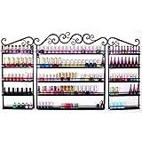 Amazon.com: 96 Bottle Nail Polish Wall Rack Display: Beauty