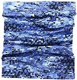 Columbia Freezer Zero Neck Gaiter Vivid Blue Digi