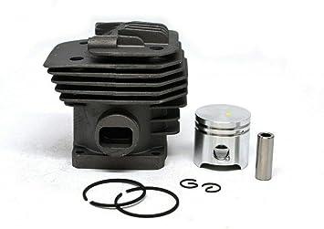 HS PARTS Juego de cilindro y pistón para Desbrozadoras Stihl FS160 ...