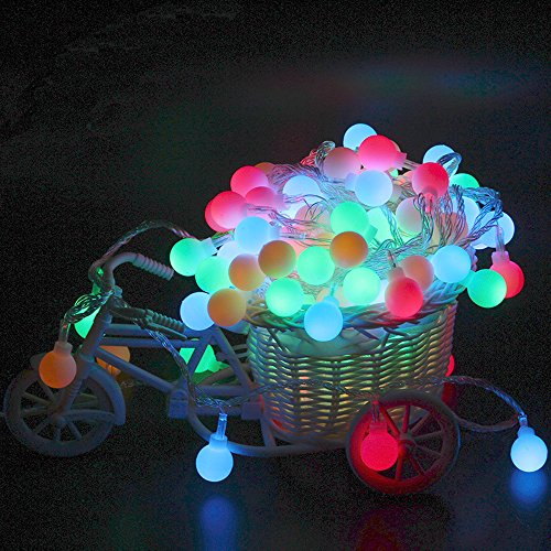 Outdoor Lighted Balls For Trees in US - 5