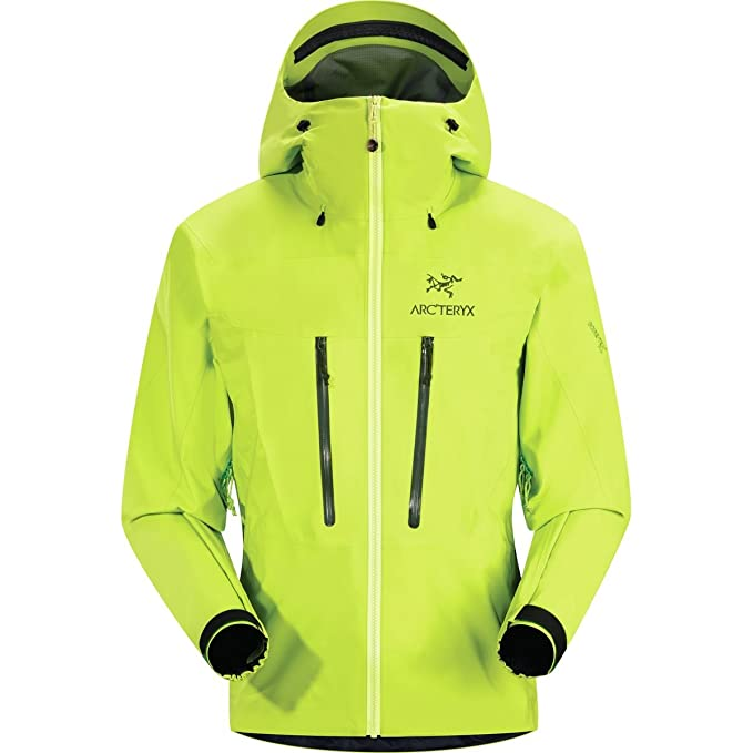 f6f978e0b0c Image Unavailable. Image not available for. Colour: Arcteryx Alpha SV Jacket  - Men's Venom Medium