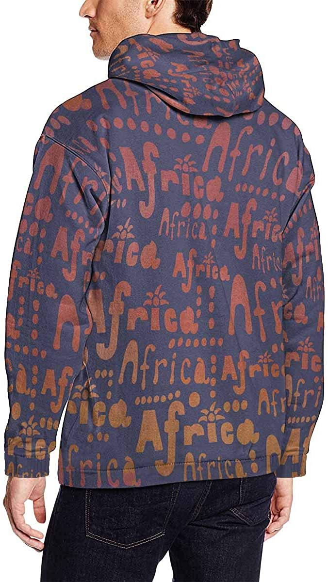 INTERESTPRINT Mens Hiphop Style for Young Hoodies Sport Sweatshirts