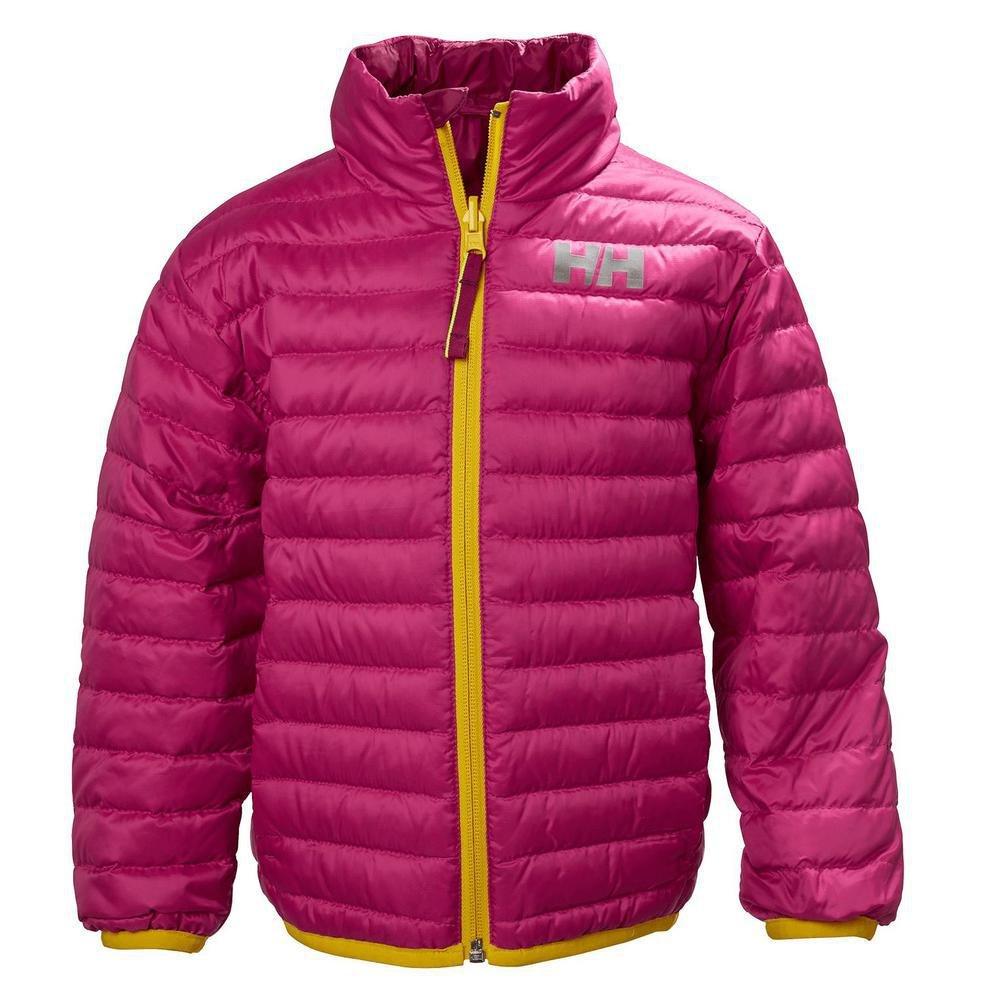 Helly Hansen K Barrier Down Insulator Coat, Very Berry, Size 9