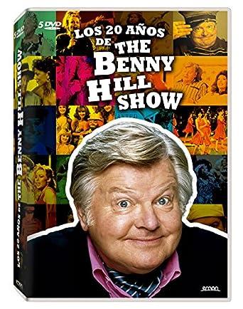 Resultado de imagen de el show de benny hill en dvd
