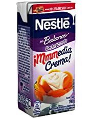 Nestle, Media Crema deslactosada, 190 gramos