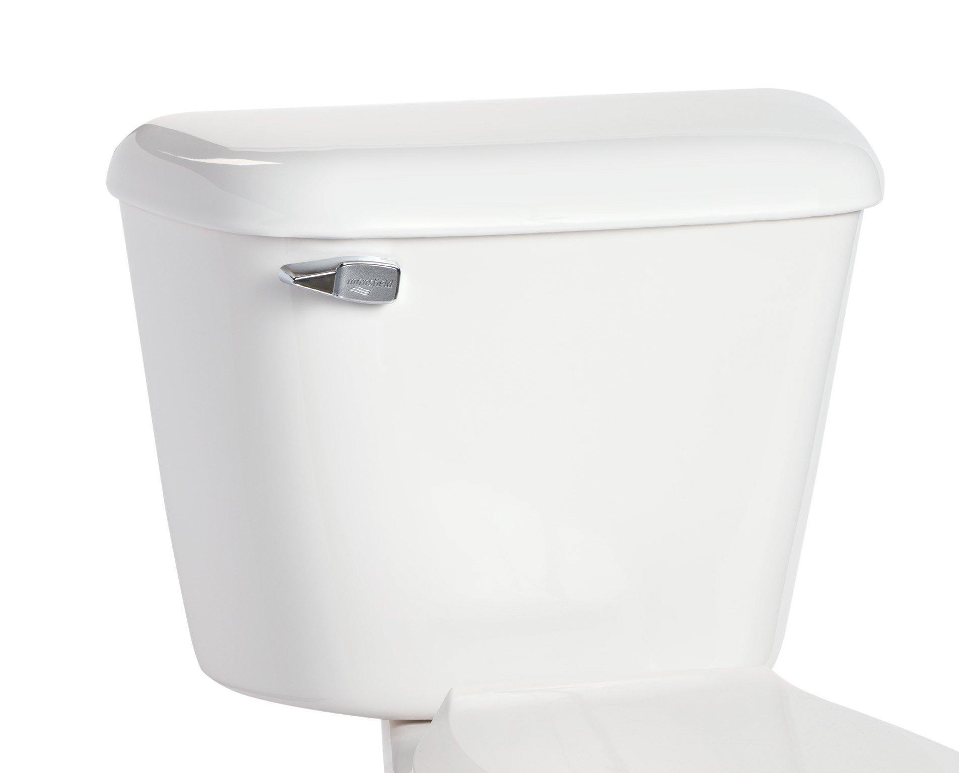 Mansfield 160WHT Alto Toilet Tank, White by Mansfield