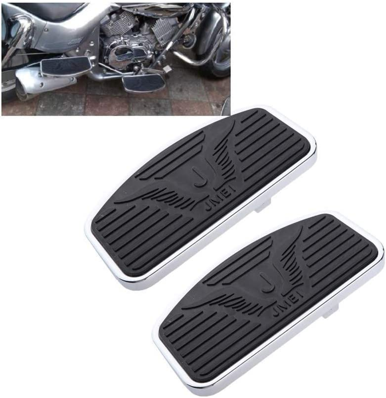 P/édalier pour Moto Yamaha Dragstar 650 // XVS 400 Dragstar Virago XV125 // 250//400 Honda Magna 250 KOQWO Une Paire de Pieds de Moto PEGS