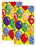 Ideal Home Range 3-Ply Paper Party Balloons, 16 Count Guest Towel Napkins Set of 2