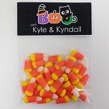 Amazon.com: Halloween Boo - Bolsas de caramelo para ...