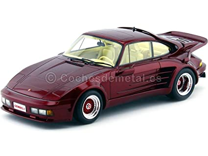 Porsche 911 Turbo Gemballa Avalanche, metallic-dark red, 1986, Model Car,