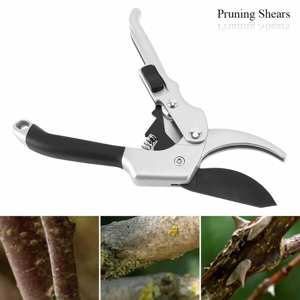 Dolwis Store Pruning Shears Professional SK-5 Steel Blade Sharp Anvil Tree Trimmers Secateurs,Hand Pruners,Garden Shears,Garden Clippers,Rose trimmers,Less effort