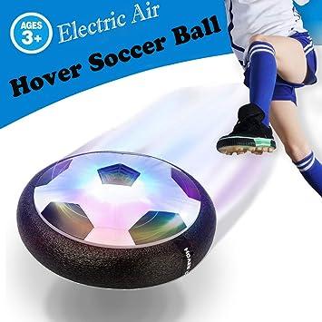 OUNDEAL Juguete Balón de Futbol Flotante, Air Soccer Football con ...