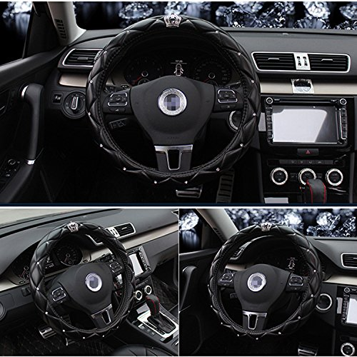steering wheel cover crystal - 6