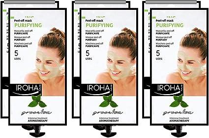 Iroha Nature - Mascarilla Facial en Crema Peel Off con Té Verde ...