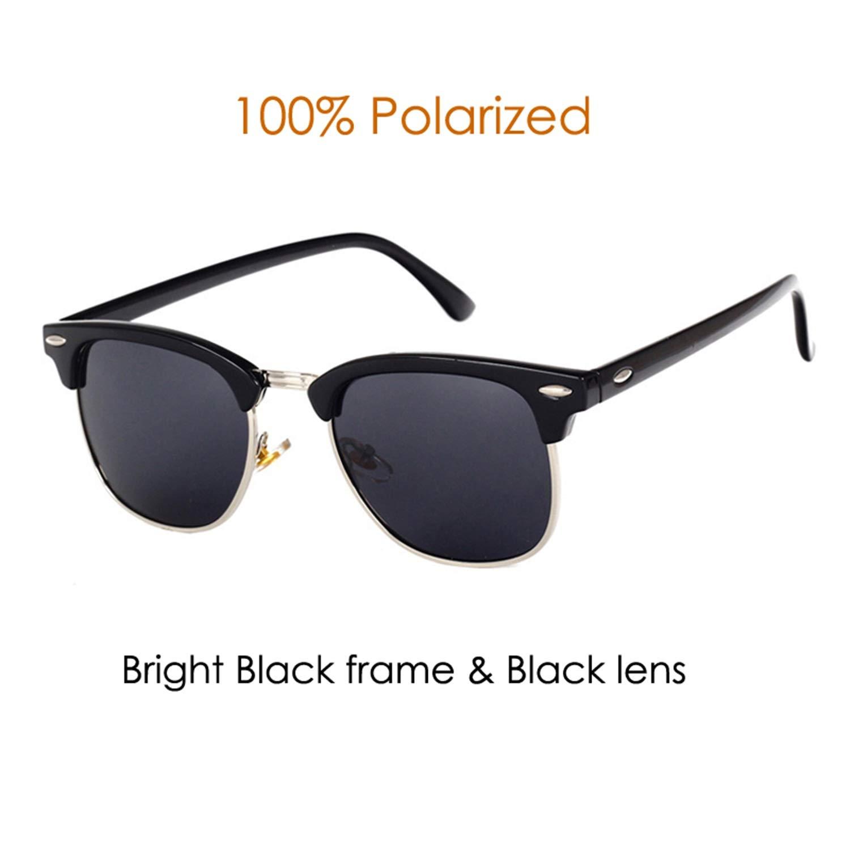Amazon.com: Classic Brand Polarized Sunglasses Men Women ...