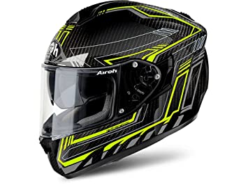 Airoh Integral casco moto casco St 701 Safety Full Carbon Yellow S