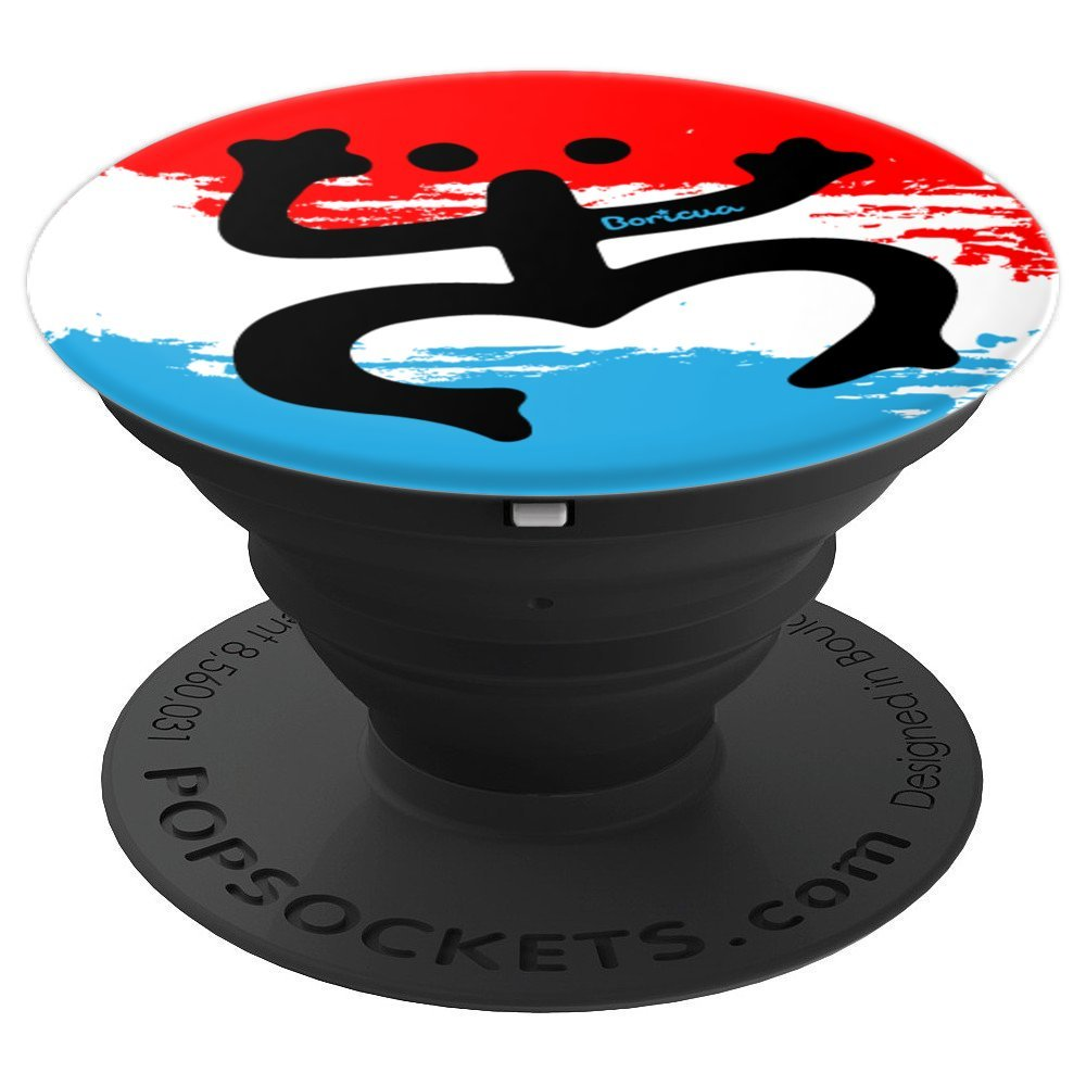 Amazon.com: Puerto Rico Boricua Coqui Taino - PopSockets Grip and ...