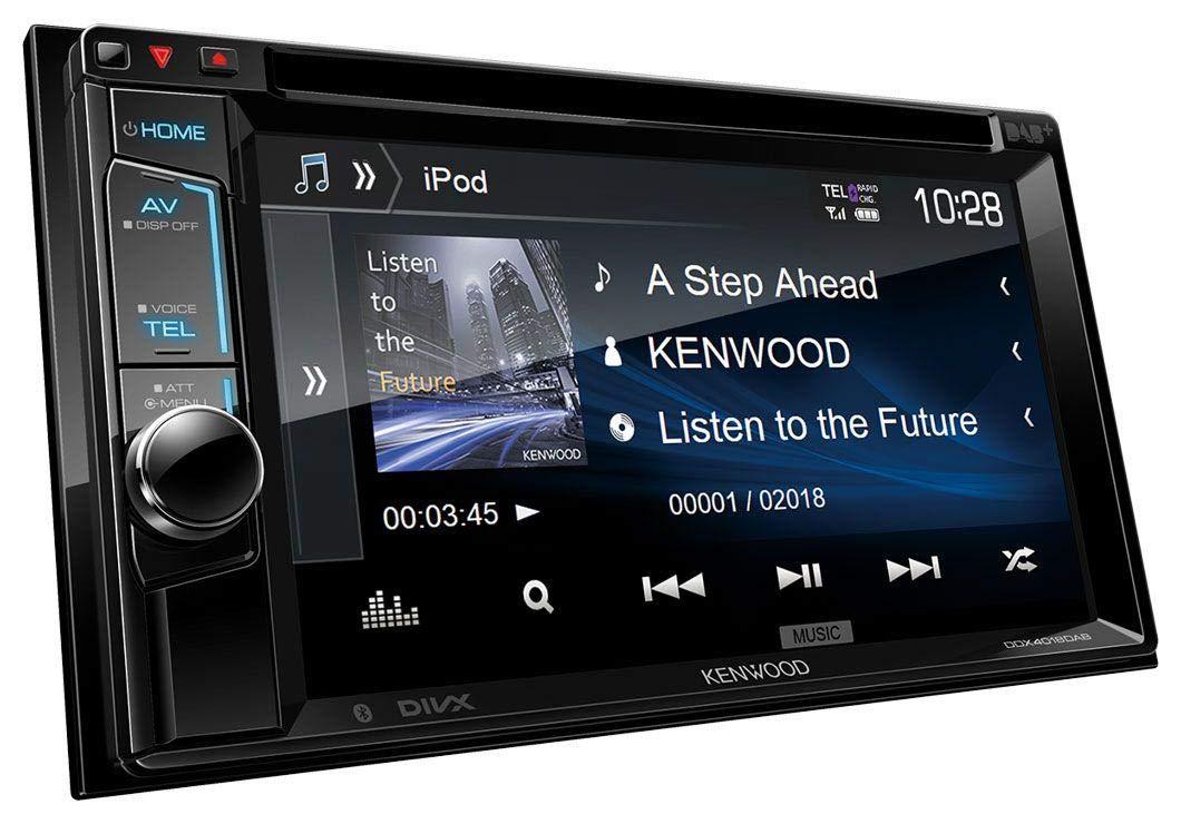 Kenwood Radio 2DIN Bluetooth Spotify für Skoda Fabia 5J 03//2007-06//2014 schwarz