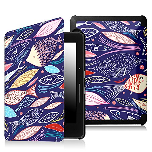 factory price 3a6d1 622de Fintie SmartShell Case for Kindle Voyage - [The Thinnest and - Import It All
