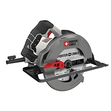 PORTER-CABLE PCE300 7-1/4-Inch Circular Saw, Heavy Duty Steel Shoe