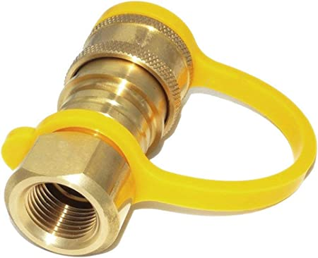"Natural Gas Quick Disconnect Quick Connect Brass 3//8/"" Male Fitting Propane"