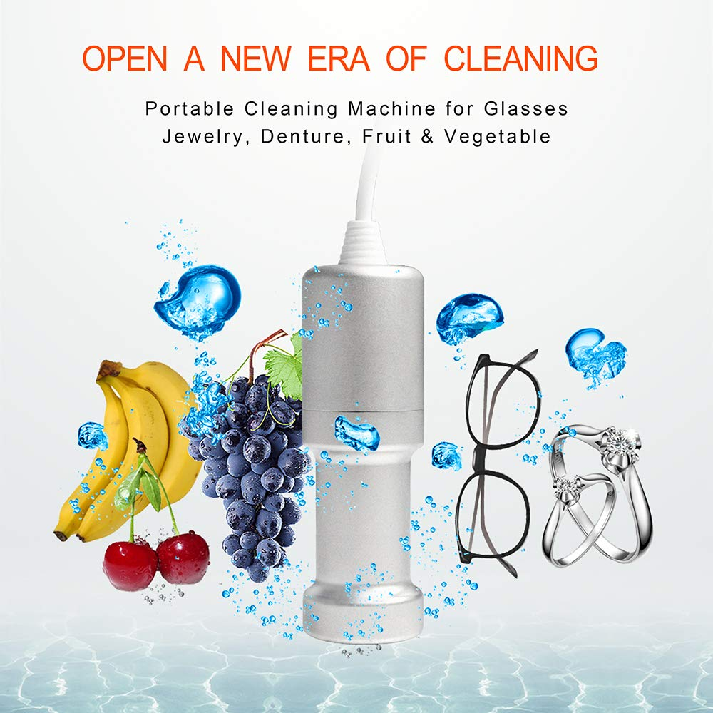 Portable Ultrasonic Cleaner Multipurpose Cleaner Machine for Kitchen Washroom Outdoor & Indoor by GENENG (Image #5)