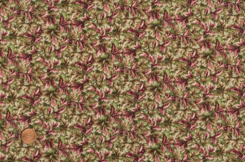 Marcus Brothers 'Floral Lane' Packed Flowers Cotton Fabric By the Yard ()