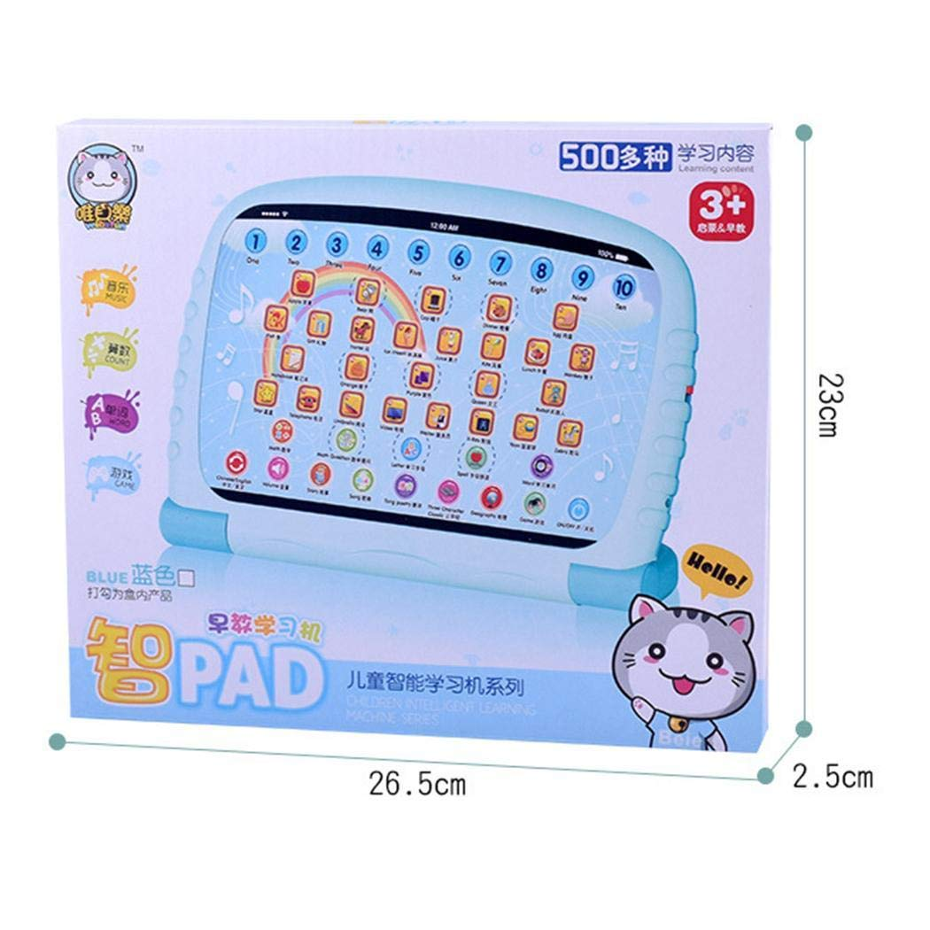 Asatr Children's Early Education Toy Learning Chinese English Reading Tablet Toy Electronic Systems by Asatr (Image #4)