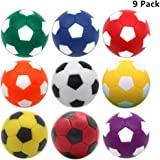OuMuaMua 9pcs Foosball Table Balls 1.42 Inch Table Soccer Balls for Foosball Tabletop Game Foosball Accessory Replacements Mu