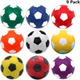 Foosball Table Balls 1.42 inch Table Soccer Balls for Foosball Tabletop Game Foosball Accessory Replacements Multicolor…