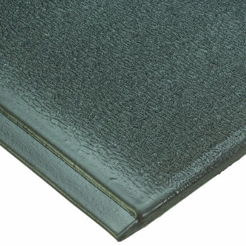 Endurable Mat (Wearwell PVC 459 Anti-Fatigue Endurable Mat, for Dry Areas, 2' Width x 3' Length x 1/2 Thickness, Black by Wearwell)