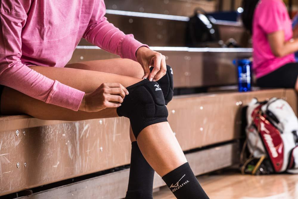 Mizuno LR6 Genouill/ère de Volleyball-Noir-Taille L