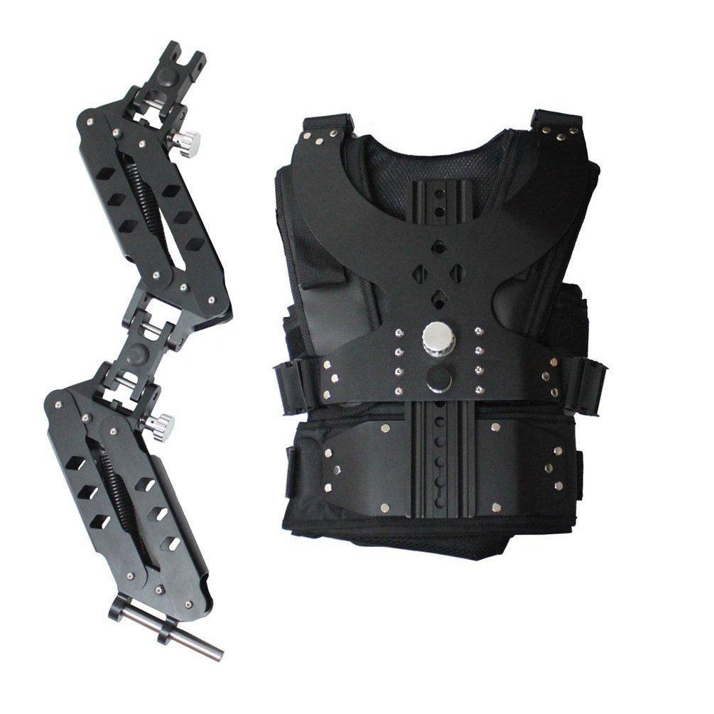 Videook 1 – 7 kgベストとそりデュアルアームStabilizer for takingビデオ写真DSLR Studio   B00KFGI7G8