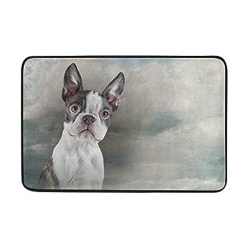 Boston Terrier Teppich