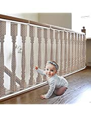 Child Safety Net, Balcony Patios Rail Stairs Safe Net for Kids/Pets/Toys, Safety for Indoor&Outdoor Lightton