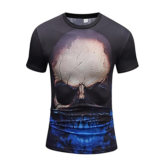 1de2dafae003 Amazon.com  Elogoog Tee Shirts for Mens 2018