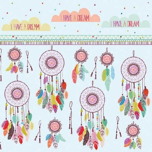 Dreamcatcher 4 Individual Napkins for Craft and Napkin Art. 33 x 33cm 3-ply 4 Paper Napkins for Decoupage