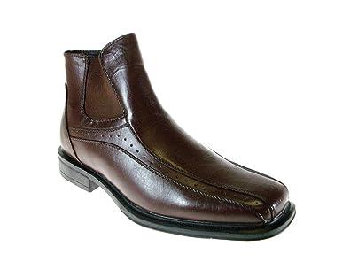 1522a212d9343 Han's Men's WA13029 Ankle High Square Toe Dress Boots