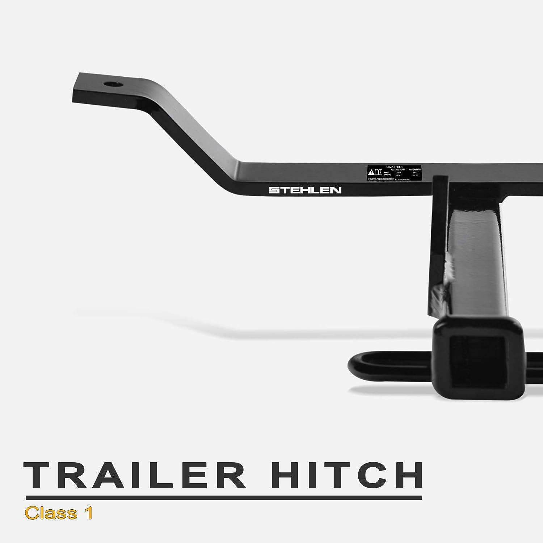 Trailer Hitch Armordillo USA 7168596 1998-2007 Honda Accord Class 1 Black