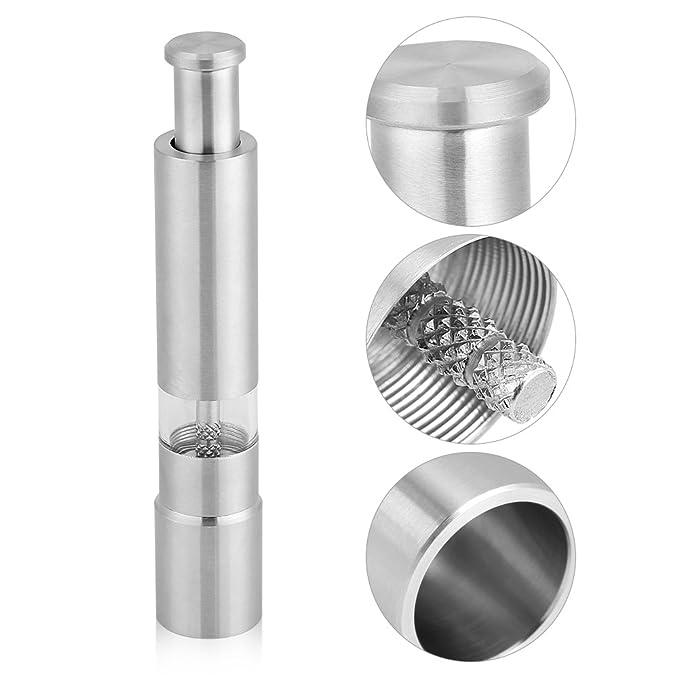 Fdit Exprimidor manual de granos de café para moler de acero inoxidable y máquina de abrade: Amazon.es: Hogar