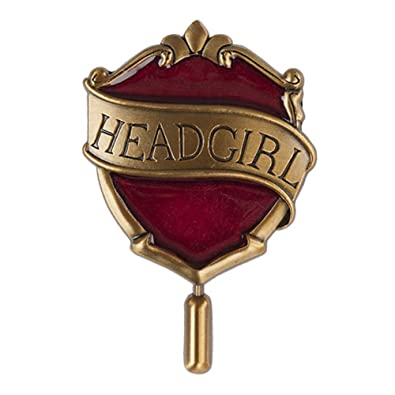 Wizarding World Of Harry Potter Hogwarts Gryffindor Head Girl House Badge Metal Trading Pin