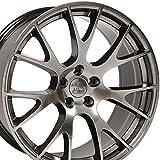 22x10 Wheels Fit Dodge, RAM - RAM Hellcat Style Hyper Black Rim - SET